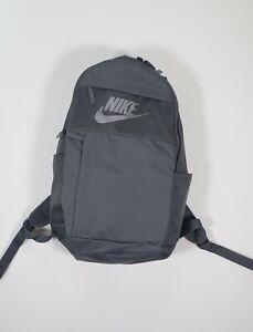 "Nike Jordan Elemental LBR 19"" CLASSIC Backpack 2.0 SCHOOL DURABLE Bag GRAY NWT"
