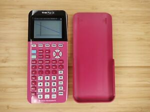 Texas Instruments TI-84 Plus CE Graphing Calculator - Pink - Magenta