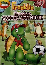 NEW SLIM CASE DVD // FRANKLIN - SOCCER ADVENTURE - TREEHOUSE -  English & French