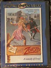 THE EROTIC ADVENTURES OF ZORRO Something Weird Video 2000 DVD New