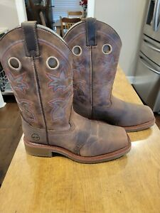 NIB Double-H Antonio Brown Square Composite Toe Work Boots DH6134 Size 10 EE Men