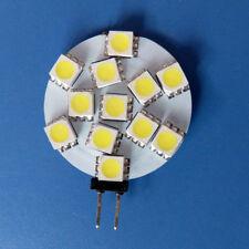 1x G4 Flat Shape LED Light Bulb 12 5050 Super Bright DC12V Car Lamp Cool White