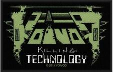 Voivod Killing Technology Woven Patch V002P Gorguts Kreator Destruction Slayer