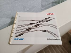 MARKLIN Z 0294 Soft Cover Track Plan Book in German.