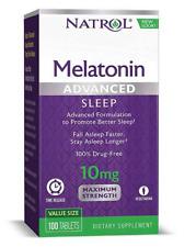 Natrol Avanzado Sleep Melatonina 10MG - 100 Tabletas