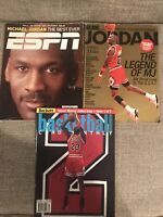 Michael Jordan Lot of (19) Vintage Magazines. Sports Illustrated, Sport, ESPN