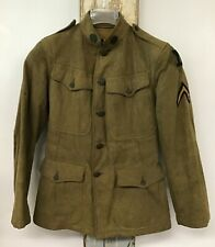 World War 1 US Army Wool Uniform Military Jacket MASS US 101 Regiment Size Small