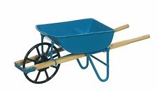 Dollhouse Miniature - Blue Wheel Barrow -  1:12 Scale
