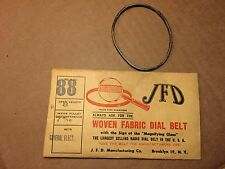 NOS Antique JFD Fabric Radio Dial Belt Number 88 GUARANTEED GE General Electric