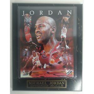 """Michael Jordan Upper Deck Authentic Photo File Plaque 10-1/2"""" x 13"""""""