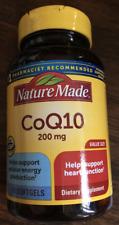 Nature Made CoQ10 200mg 80 Softgels 1/23