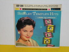 """SINGLE 7"""" - SHIRLEY TEMPLE - HITS FROM HER ORIGINAL FILM SOUNDTRACKS - EP"""