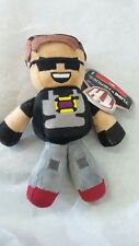 Tube Heroes Sky Plush Character Jazwares New with Tags Minecraft TH