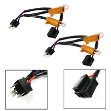 12V H4 HB2 LED Headlight Canbus Resistor Decoder Wiring Anti Flicker Error Free