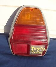 1977 Toyota Left Taillight Lens w/ Bezel Rear Light