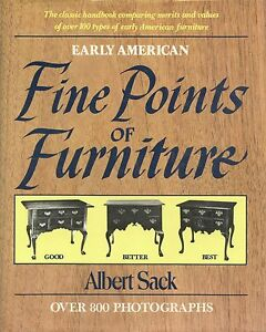 Evaluation of Antique American Furniture / In-Depth Illustrated Book