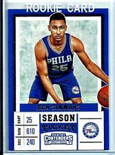 2017 Panini Contenders Draft Picks # 3  Ben Simmons *Rookie* Philadelphia 76ers