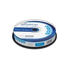 Blu-ray BD-R DL 50GB 6X MediaRange Tarrina 10 uds