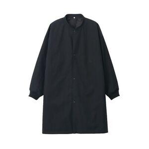 Muji Labo Unisex Cotton Mix Ribbed Coat, L-XL