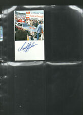 BUDDY BAKER AUTOGRAPHED/AUTO/HAND SIGNED INDEX CARD 3X5 C
