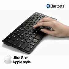 Slim Wireless Bluetooth Keyboard For iMac iPad Android Phone Tablet PC BK K