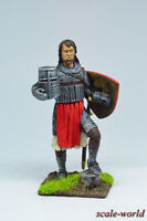 Tin soldier, figure. Teutonic knight, 13th century 54 mm