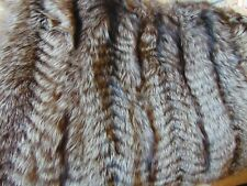 Amazing silver fox fur throw
