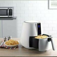 Digital Oil-Less Air Fryer Healthy Cooker Farberware 3.2Quart White + Cookbook