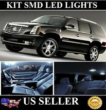 22pc White LED Lights Interior Package Kit for Cadillac Escalade 07-15 + TOOL.