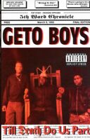 Geto Boys Till Death Do Us Part 1993 Cassette Tape Album Hiphop Rap