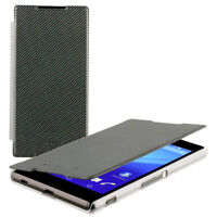 GENUINE SONY XPERIA Z5 ROXFIT ULTRA SLIM BOOK CASE COVER | BLACK