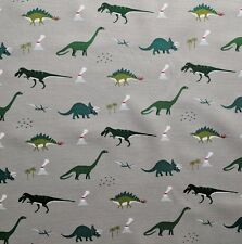 Sophie Allport Dinosaur Fabric Offcut Remnant Fat Quarter 50 x 50cm