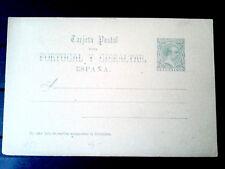 1890 entero postal 25 España ver imagen - Spain prepaid postcard nº25