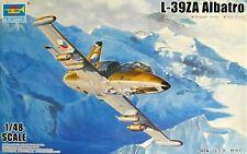 Trumpeter 1:48 L-39ZA Albatros Aircraft Model Kit