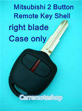 Mitsubishi Lancer EVO CT9A VII VIII IX 2 Button Remote key shell case with blade