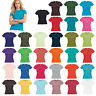 B&C Collection Women Short Sleeve T-Shirt TW012 -Ladies Casual Fitted Cotton Tee