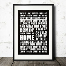 Swing Low DOLCE Cocchio Rugby versi della canzone poster Inghilterra