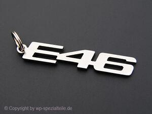 BMW E46 Keychain Keyring Chain Fob Keyfob M3 328i 325i 323i 320i 318i 316 Cabrio
