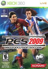 X-BOX 360 PES 2009 PRO EVOLUTION SOCCER ORIGINAL