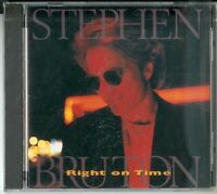 "STEPHEN BRUTON- ""Right On Time""-CD 1995 - US Import NEU & OVP"