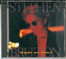 """Stephen Bruton sig - """"Right on Time"""" - CD 1995-US import NUOVO & OVP"""