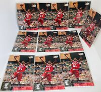 (11) Card Lot 2009-10 UD PATRICK BEVERLEY Rookie RC #211 LA CLIPPERS PACK FRESH!