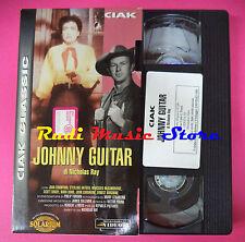 film VHS cartonata JOHNNY GUITAR Nicholas Ray CIAK 105 Minuti (F91) no dvd