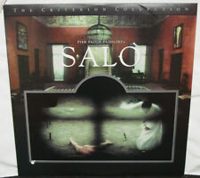 SALO 120 DAYS OF SODOM - 1975 - Pasolini WWII - Criterion Collection Laserdisc