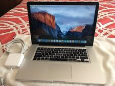 "Apple MacBook Pro 15"" Mid 2012 - 2.3 GHz - Core i7 - 4 GB RAM - 1 TB HD - AP120"