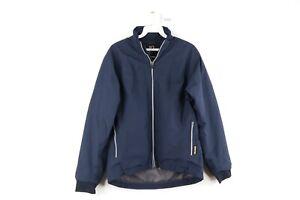 Zero Restriction Mens Small Gore-Tex Full Zip Waterproof Windbreaker Rain Jacket