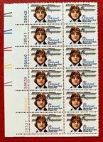US Airmail SC #C99 28c Blanche Stuart Scott Plate Block of 12