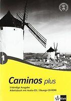 Caminos plus 1. Arbeitsbuch, Audio-CD, Übungs-CD-ROM: BD 1   Buch   Zustand gut
