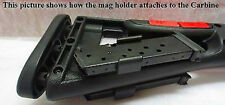 Hi-Point 995 995TS 9MM Magazine Holder Carrier with 2 10RD Magazines Clips