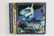 Virtual On Cyber Troopers W/ Spine Reg Flyer Sega Saturn Ss Japan Import G7664
